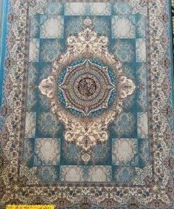 فرش ابیانه رویال آبی