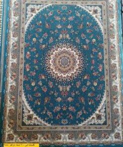 فرش ابیانه گلستانه آبی