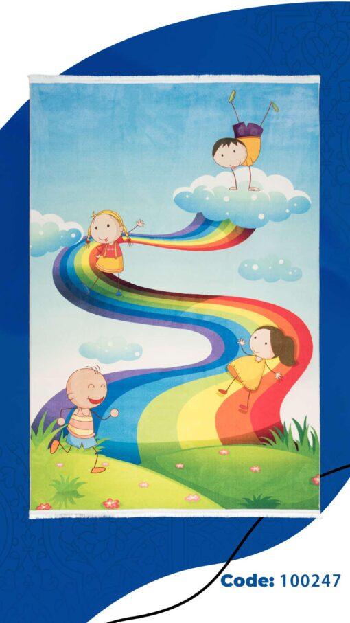فرش ابیانه طرح کودک 100247