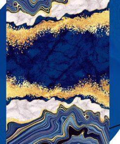 فرش ابیانه طرح سنگ انتیک300101