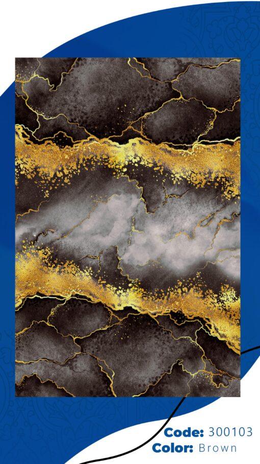 فرش ابیانه طرح سنگ انتیک300103
