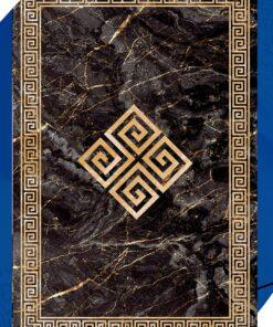 فرش ابیانه طرح سنگ انتیک300108