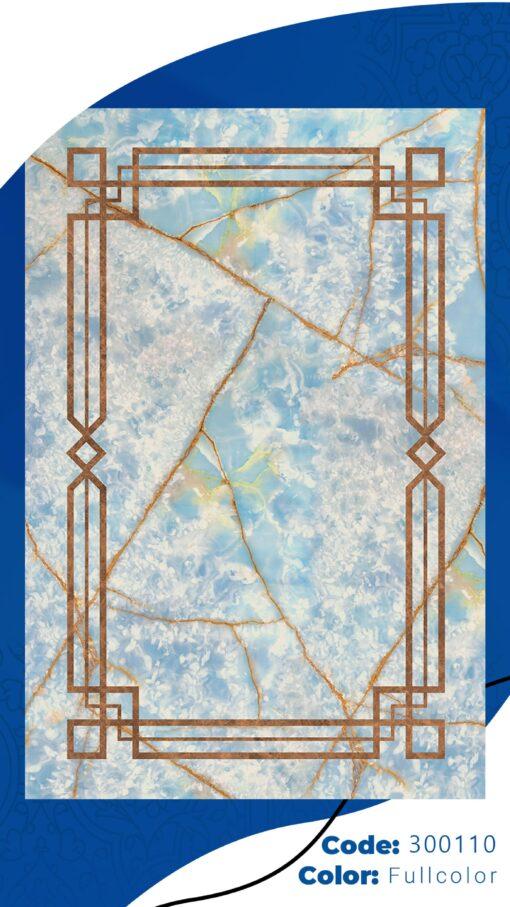 فرش ابیانه طرح سنگ انتیک300110