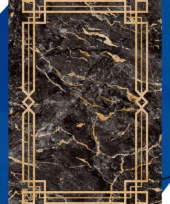فرش ابیانه طرح سنگ انتیک300111