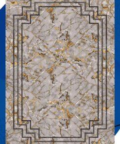 فرش ابیانه طرح سنگ انتیک300112